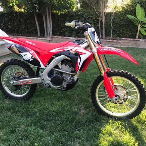 2018 Honda HONDA CRF 250R Red for sale